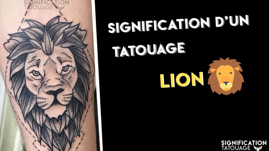 la signification d un tatouage lion